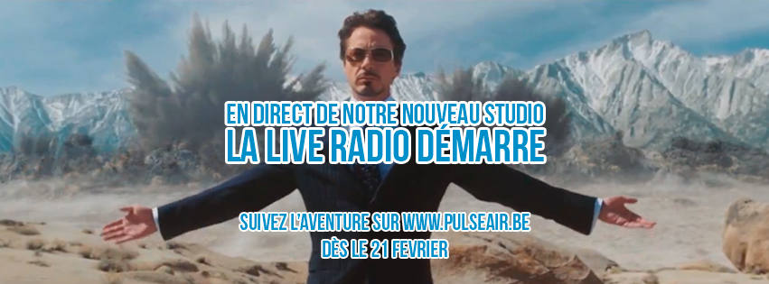 Pulse Air : L'aventure live radio démarre !